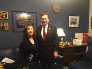Angelina and Congressman Keith Rothfus