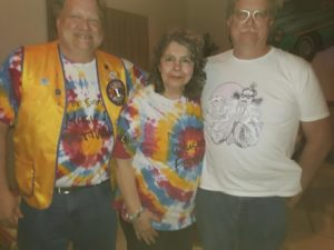 Mike & Steve Babb, and Barb Shade at 2019 Music Fest